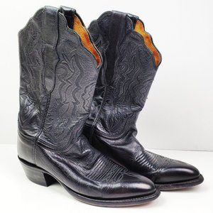 Lucchese 2000 Women's Leather Cowgirl Boots 7 B